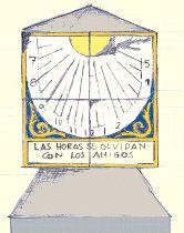 Reloj de sol de Gopegi.